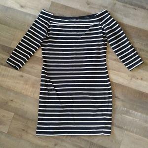 Dynamite Black and White dress size L